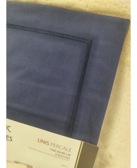 TAIE 80/80 BOUTONS PERCALE...