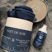 Taies cosmétiques en soie 100% française  Disponibles chez Plum'Service à Lens et L'Atelier Des Rêves au Touquet @benu_blanc @le_touquet #chill #cosmetic #sleep #soie #benublanc #skincare #esthetic
