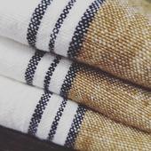 Les magnifiques torchons en lin très tendances, disponibles à Lens et au Touquet😁 #torchons#vaisselle#lin#plumservice#lens#letouquet#