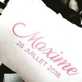 Coussin 40/60 en 100% lin lavé personnalisable😀 #touquet#deco#lin#plumservice#latelierdesreves#lens#